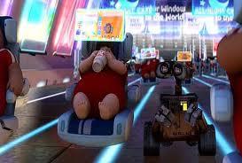 Wall-E Fat Guy Chair